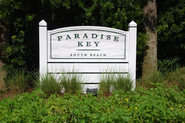 Jacksonville Beach Paradise Key neighborhood